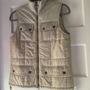 Barbour Amelia Gilet/Vest UK 10 (US 6) - Cream
